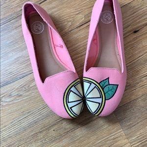 SO Shoes - SO lemon slice flats